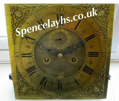 Early London Longcase Clock Movement