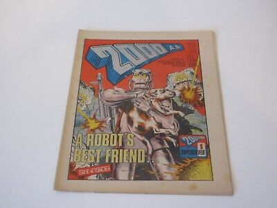 2000AD Prog No 19 - 2nd July 1977 - Judge Dredd- Very Fine Condition