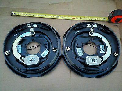 "(2) Trailer 12"" x 2"" Electric Brakes Left Right 6000 7000 lb Axle FREE SHIPPING!"
