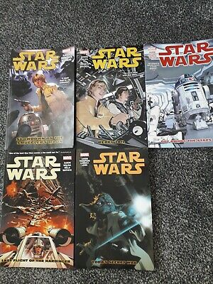 Star Wars Graphic novels 2-6