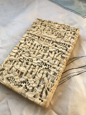 Deep Carved Oversized Chinese Card Case
