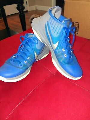 ca099cd3904 Mens NIKE AIR VERSITILE Basketball Shoes Size 9 Royal Blue   Silver  852431-400