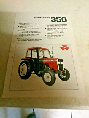 Precise Massey Ferguson 1010 Tractor Sales Brochure Spec Sheet Classic Vintage Tractor Easy To Use Business, Office & Industrial