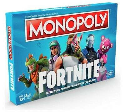 New Special Monopoly Board GameFortnite Edition Family Game