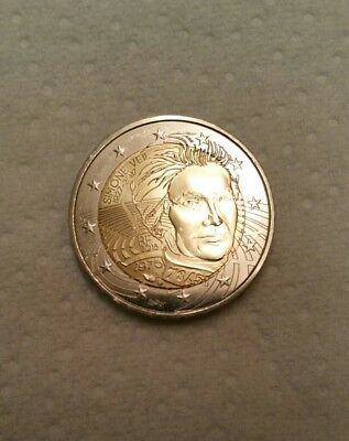 Disponible Piece Neuve 2 Euros Commemorative France 2018 - Simone Veil