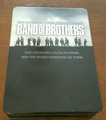 Band of Brothers (DVD, 2002, 6-Disc Set) Steel Case & Complete! Awesome!