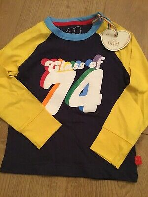 Little Bird By Jools Oliver Class Of 74 Long Sleeve Top Age 9-12 Months 🍄🌈🍄