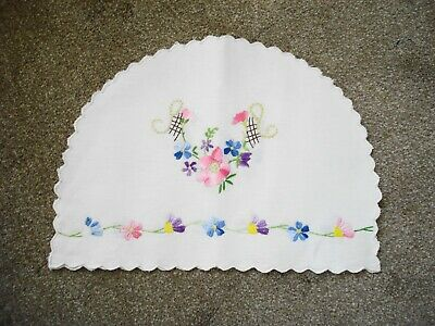 Vintage Hand Embroidered Tea Cosy Cover