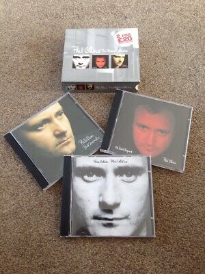 PHIL COLLINS The Platinum Collection 3 X CDs In Slip Case GENESIS Face Value