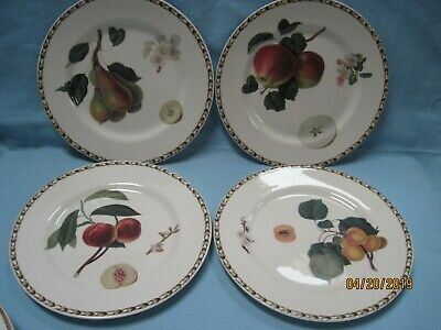 Queen's Fine China the Royal Horticultural Society Hookers Fruit Salad Plates In