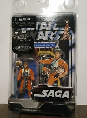 Star Wars Luke X-Wing Piloto Saga Collection 3'75""