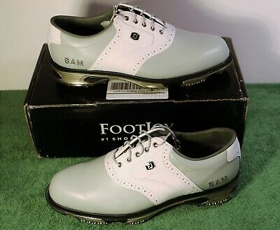 best cheap f1b0c c5f2d New in Box Footjoy FJ MyJoys DryJoys Tour 10 D M Style 53780 Golf Shoes