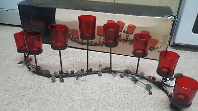 Christmas Collection Stunning Large Metal Candle Holder Landon Tyler