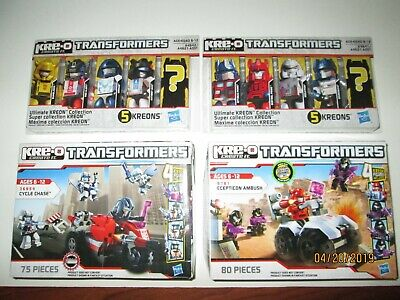 Sealed KRE-O Transformers A5412 Autobot Command Center Retired NEW