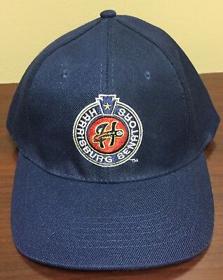 456f89ddba8 HARRISBURG SENATORS Blue Hat cap MiLB Eastern League MINOR LEAGUE Baseball