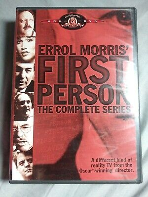 Errol Morris First Person: The Complete Series 3 Pack (DVD, 2005, 3-Disc Set)