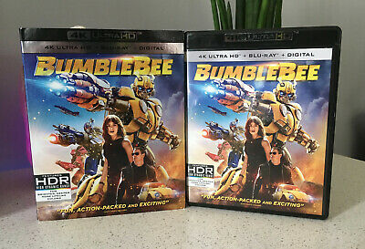 Bumblebee 4K Ultra+Blu-Ray, with Slip Cover, NO Digital Code
