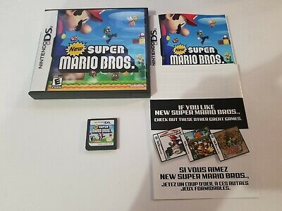 New Super Mario Bros. (Nintendo DS, 2006) CIB, great condition, Authentic TESTED