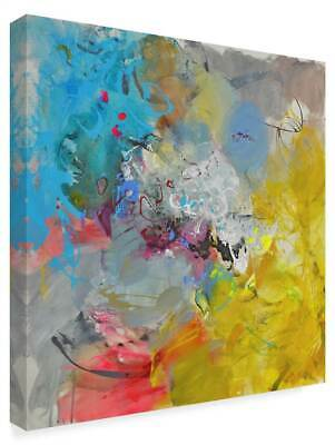 Gabi Ger 'Colorful Paint' Gallary Wrapped Canvas Art [ID 3769383]