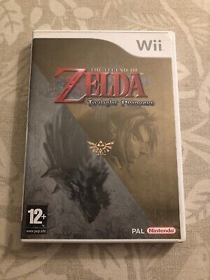 The Legend Of Zelda Twilight Princess Nintendo Wii Game PAL Version CIB