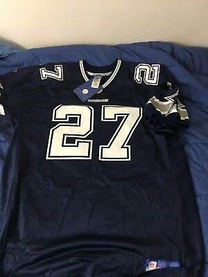 02f9bd71634 Authentic Reebok NFL Dallas Cowboys Eddie George Jersey 56 54 2XL 3XL BNWT  RARE