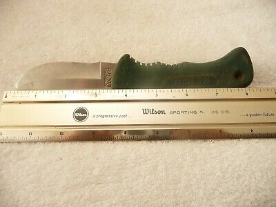 VINTAGE Old Timer SCHRADE+ 1410T Fixed Blade Skinning Knife USA