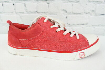 3d42f64f65f UGG AUSTRALIA TAYA Canvas Sneakers, Women's Size 9, Red Violet ...