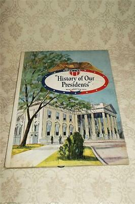 "Vintage Children's Pop-Up Book ""History Of Our Presidents"" ~Maxwell House Coffee"