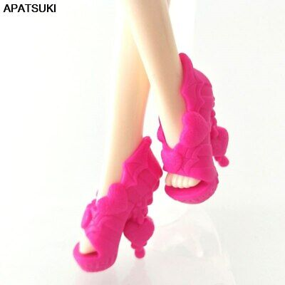 Pink Love Original Fashion Modern Shoes for Monster High Doll High Heel Shoes