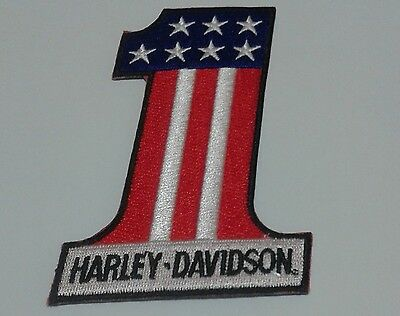 Toppe  Patch Ricamata Termoadesiva  Harley Davidson
