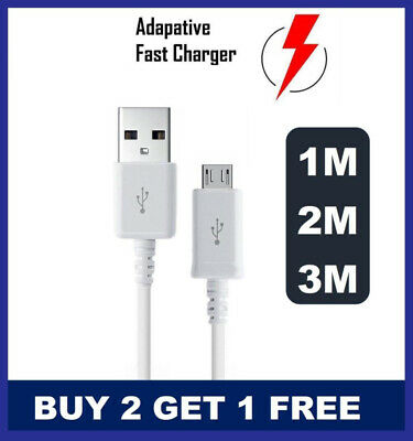 Genuine Original For Samsung Galaxy S3 S4 S5 S6 S7 EDGE Fast Charger USB Cable