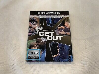 (SLIPCOVER ONLY) Get Out (NO 4K/BLU-RAY/DVD) FREE SHIPPING