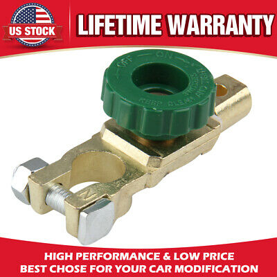 Car Battery Link Terminal Quick Cut-off Disconnect Master Kill Shut Switch Solid