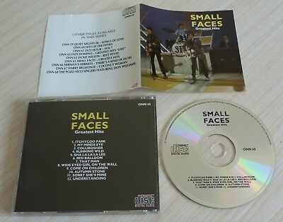 Cd Album Greatest Hits Small Faces 12 Titres Onn 65