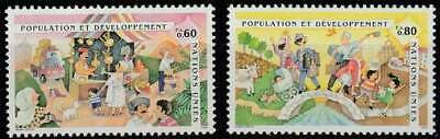 Nations Unies - Geneve postfris 1994 MNH 254-255 - Bevolkingsconferentie