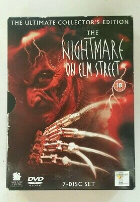 The Nightmare on Elm Street Ultimate Collectors Edition 7 DVD set Films 1-7
