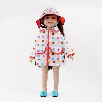 Raincoat & hat Doll Clothes Dress Outfits  For 18 inch Girl Our Generation Sale