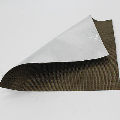 Aluminized Titanium Heat Shield Aluminized Basalt Fiber Cloth for blankets NEW