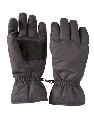 NEW Mountain Warehouse Men's Grey Snowproof Ski Gloves Small RRP £22.99