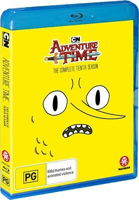ADVENTURE TIME COMPLETE TENTH 10 SEASON Blu Ray Region B BRAND NEW & SEALED