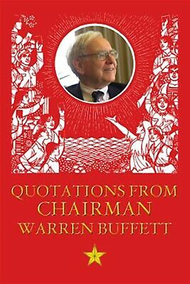 Quotations from Chairman Buffet by The Enthusiast -Paperback