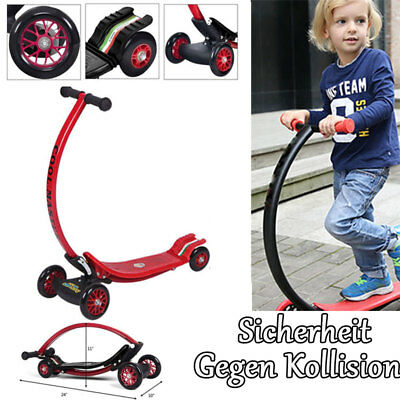 Scooter Roller Tretroller Kinderroller Glücklich Wheel City Kickboard WX