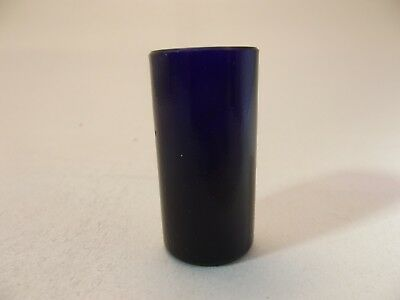 Cobalt Blue Glass Liner (GL51) - Replacement Silver Salt Pepper Pot - Bristol