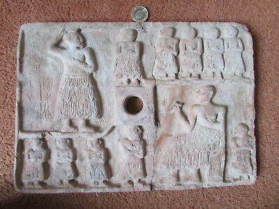 Circa 3000-2000Bce Ancient Near Eastern Terracotta Plaque Early Form Of Writing