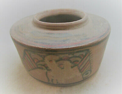 Finest Circa 2200-2000Bce Ancient Indus Valley Harappan Pyxis Vessel