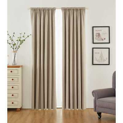 NEW KOO Willow Pencil Pleat Curtains By Spotlight