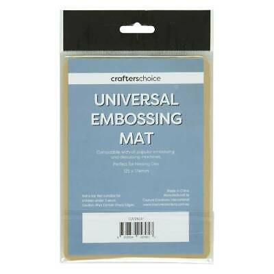 NEW Crafters Choice Universal Embossing Mat By Spotlight