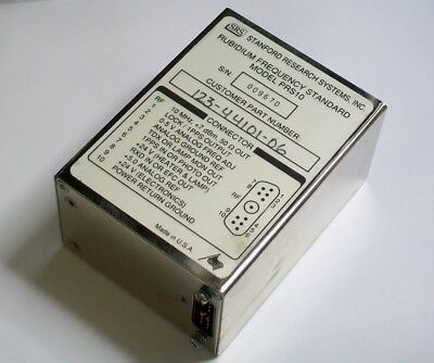 STANFORD RESEARCH PRS10 rubidium atomic oscillator frequency reference standard