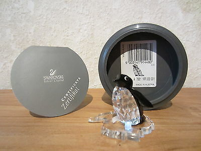 SWAROVSKI *NEW* Sir Pingouin Penguin 191448 H.3,8cm with stand