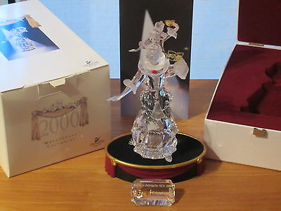 SWAROVSKI *NEW* SCS Colombine Columbine 2000 + Socle + Plaque 242032 H.17cm